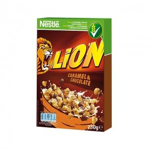 Lion karamellás, csokis gabonapehely 230 g