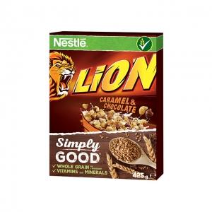 Lion karamellás, csokis gabonapehely 425 g