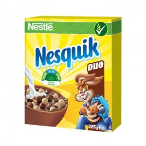 Nesquik Duo kakaós és vanília ízű, ropogós gabonapehely 225 g