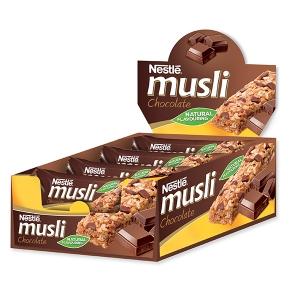 Müzli szelet csokis kínáló karton 35gx12db